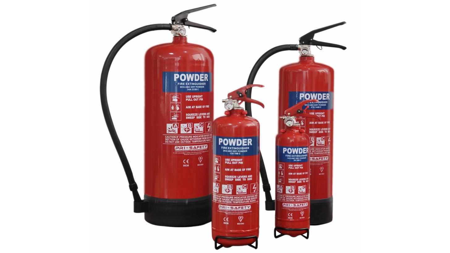 Logo EN3-approved Fire Extinguisher