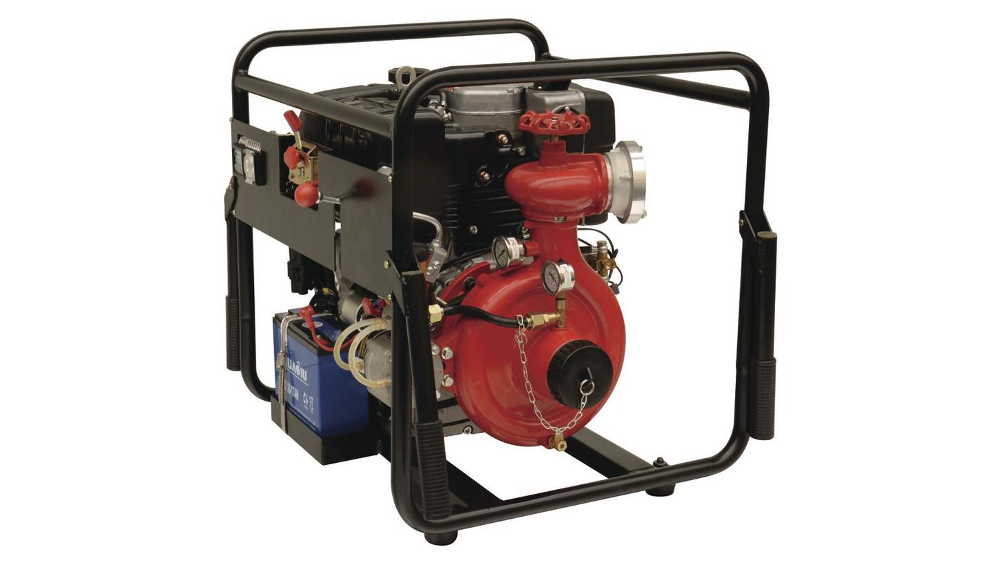 Logo Portable Fire Pump