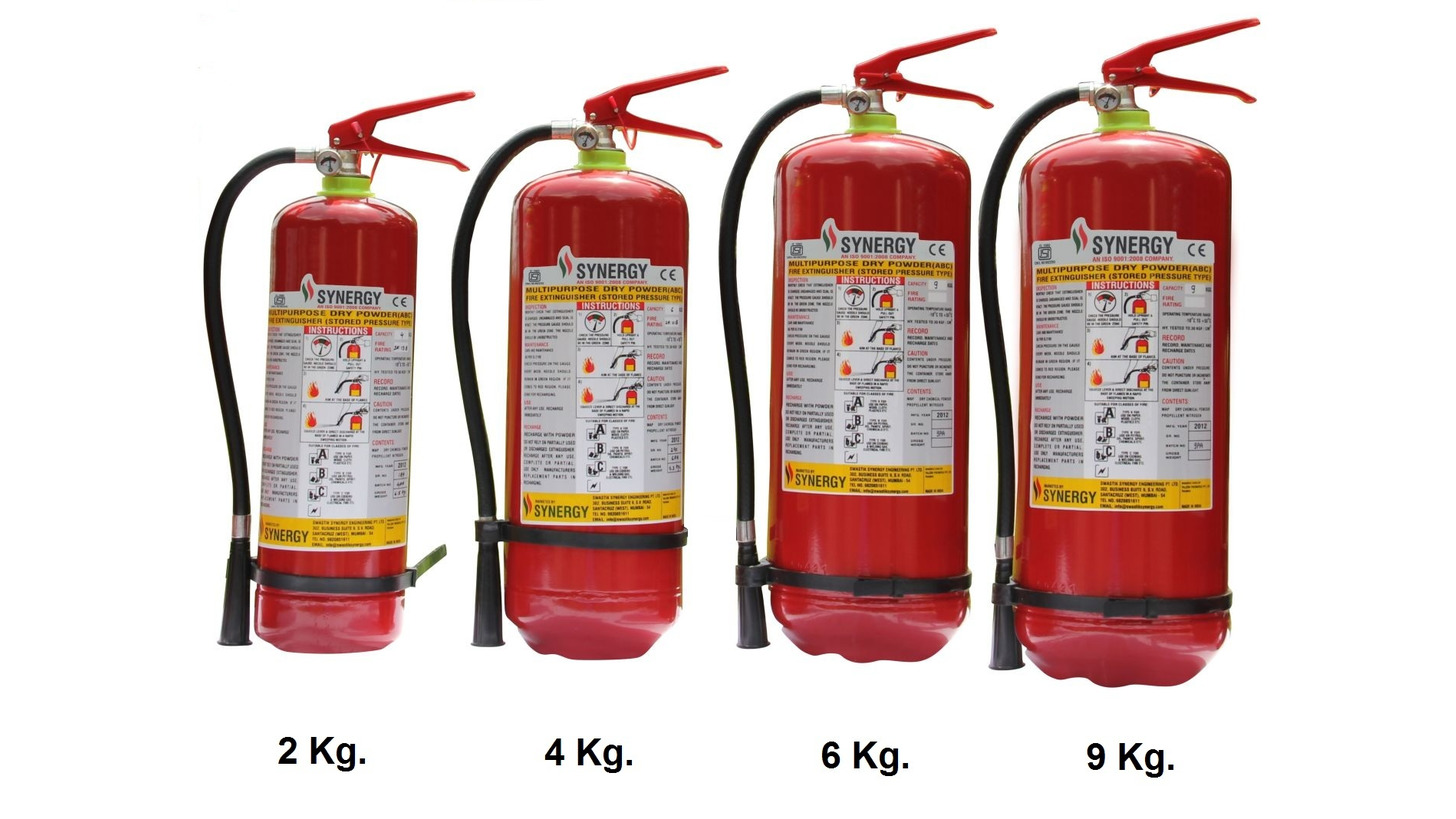Logo Powder Fire Extinguishers