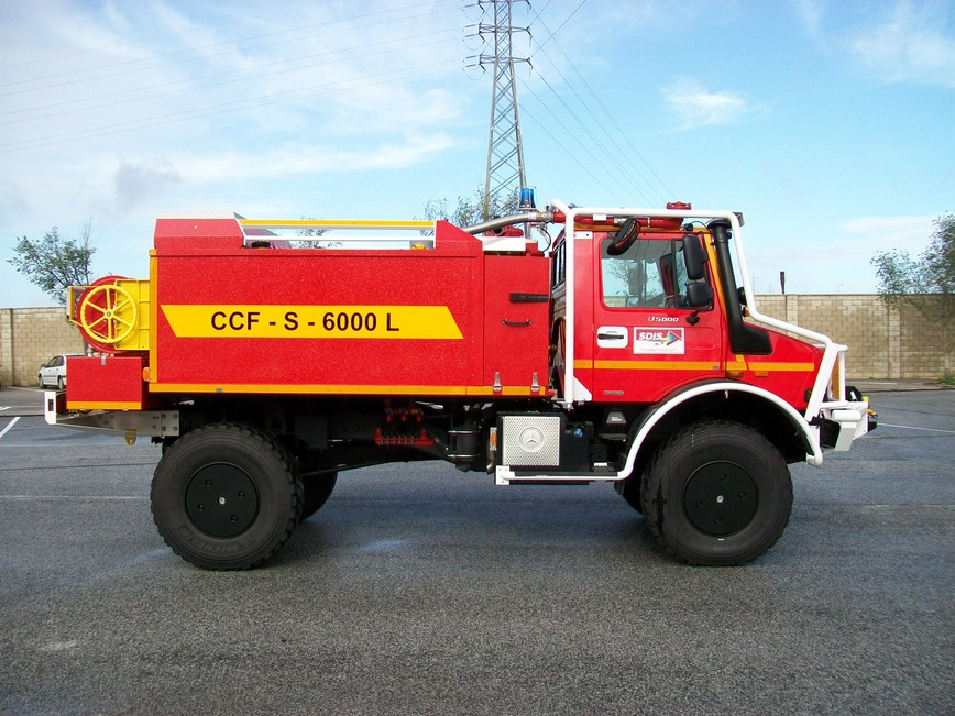 Logo Heavy Forest Fire vehicle ITURRI
