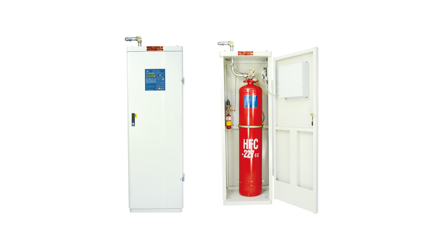 Logo Cabinet Gas HFC-227 Fire Extinguishers