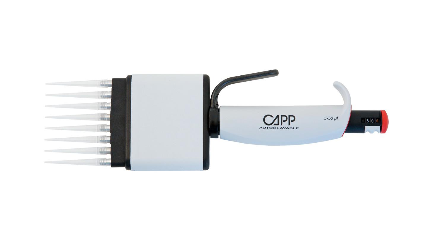 Logo CappAero Multichannel Pipettes