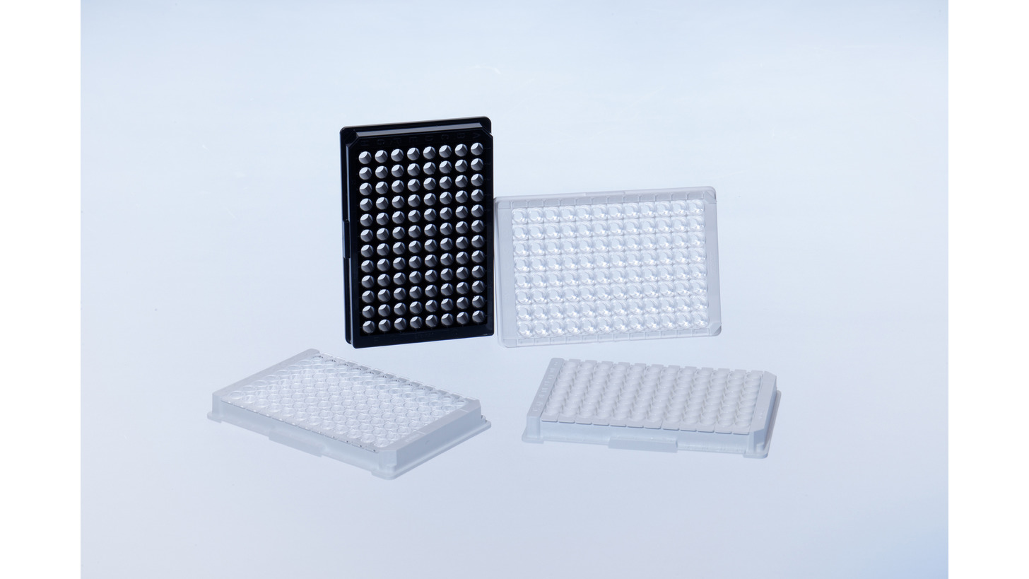 Logo 96 Well Microplates with 3D Epoxy Surface