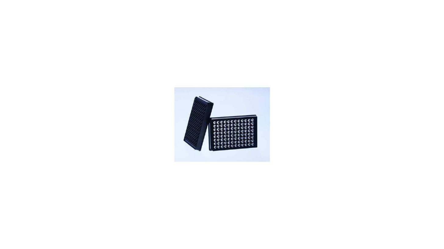Logo 96 well SensoPlate Plus glass bottom microplate