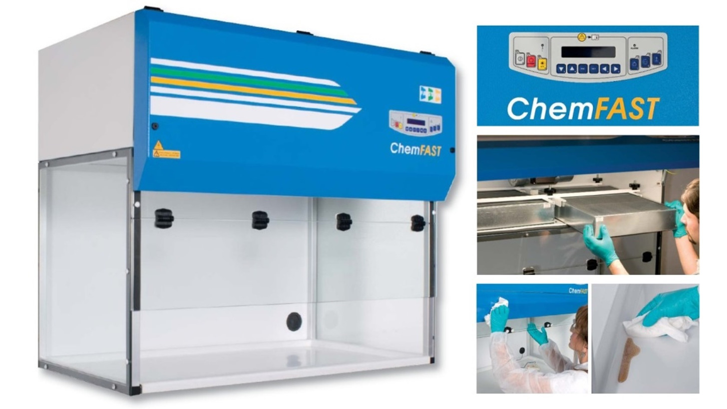 Logo ChemFAST Fume Cupboards from FASTER