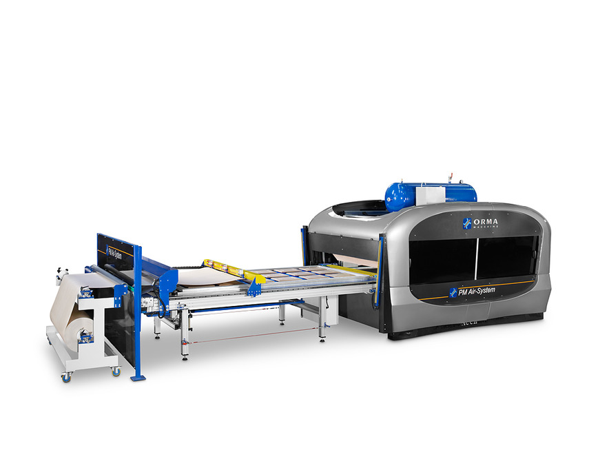 Logo MEMBRANE PRESSES WITH AUTOMATIC PIN SYSTEM