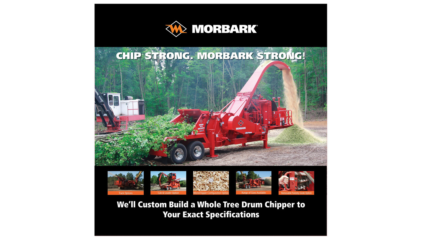 Logo Morbark Woodchippers