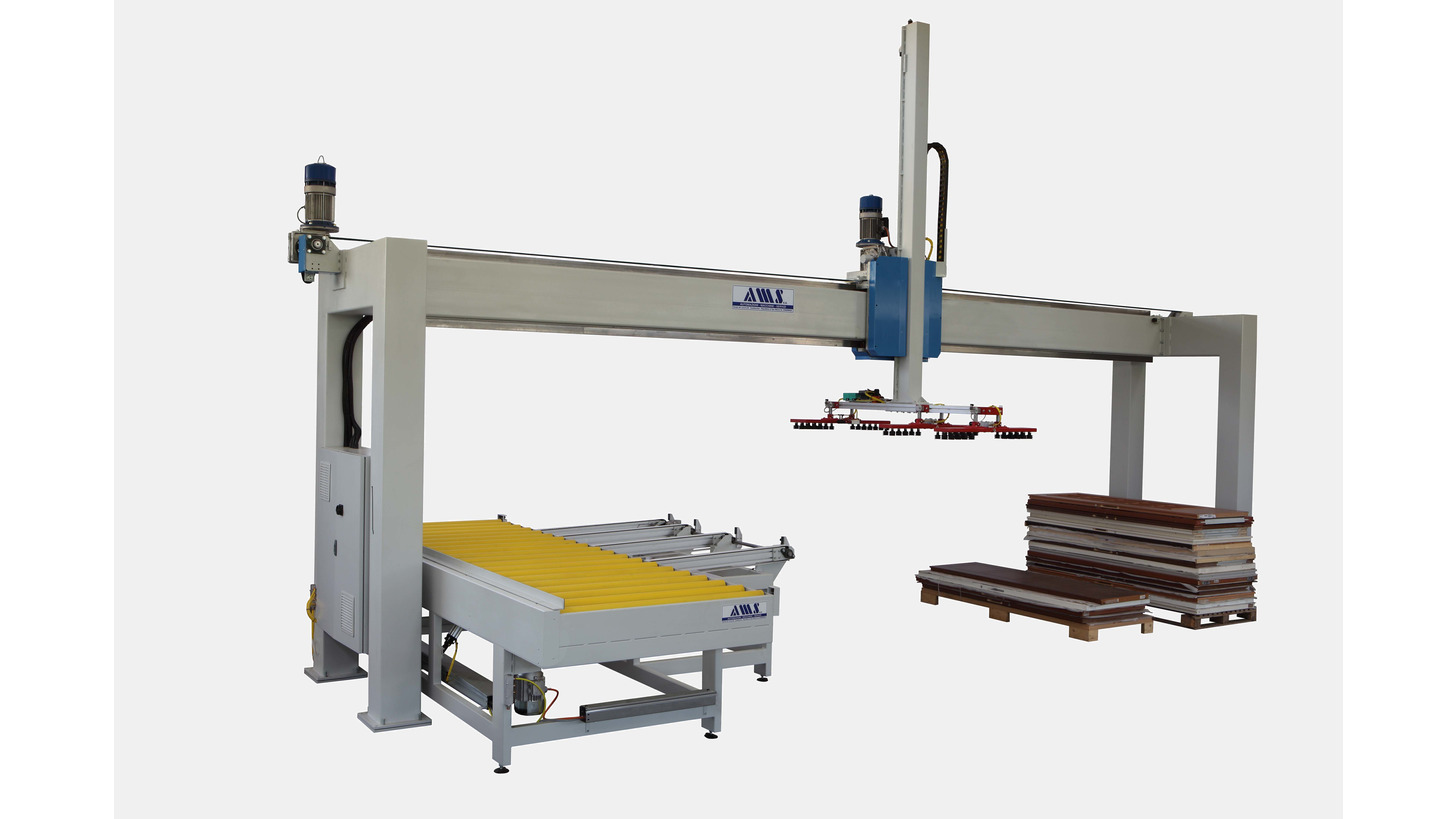 Logo FA and MA series handling systems
