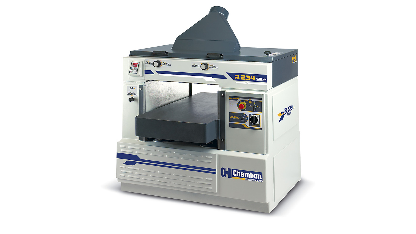 Logo Thicknesser R.234