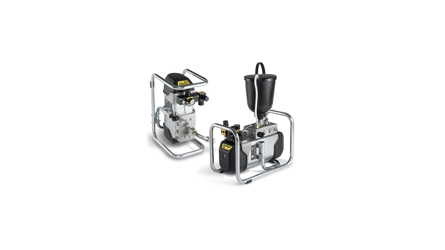 Logo WAGNER Cobra high pressure double diaphragm pumps