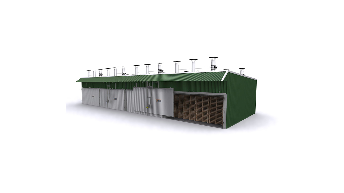 Logo Heat treatment pallet drying kilns