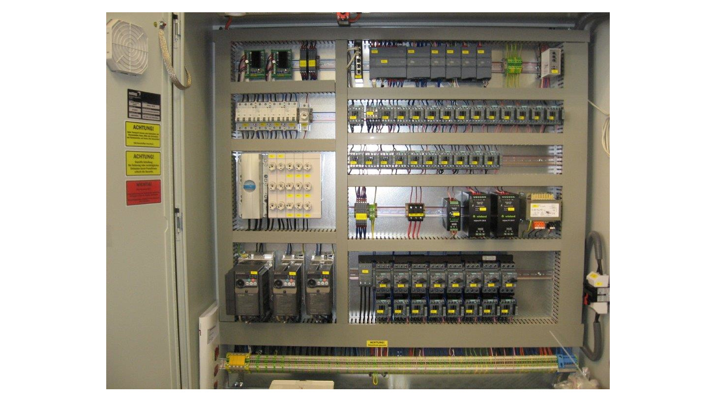 Logo The electric control (switch cabinet)