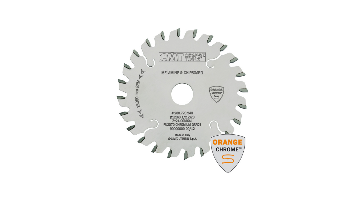 Logo Industrial chrome-coated conical scoring blades