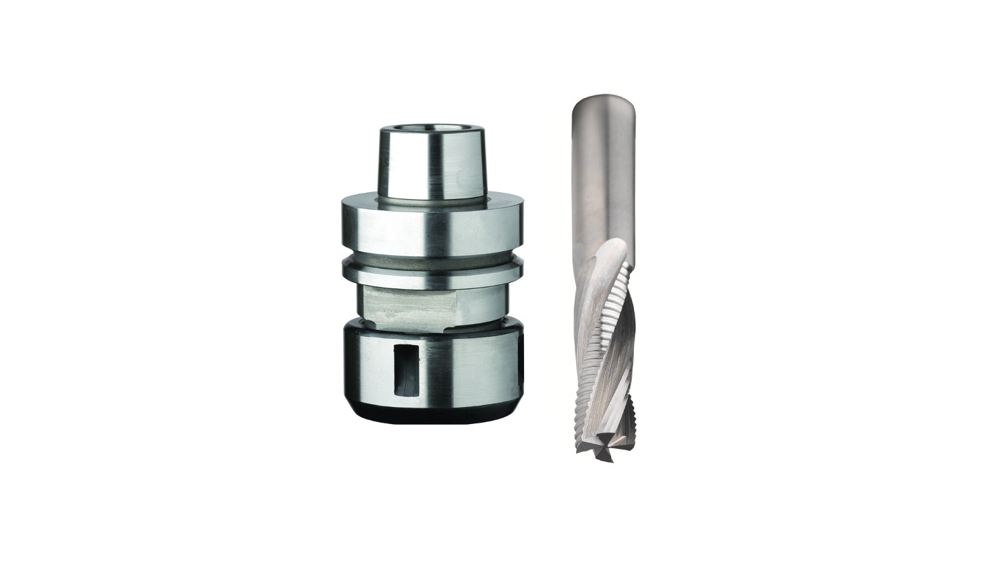 Logo Router cutters and chucks for CNC machines