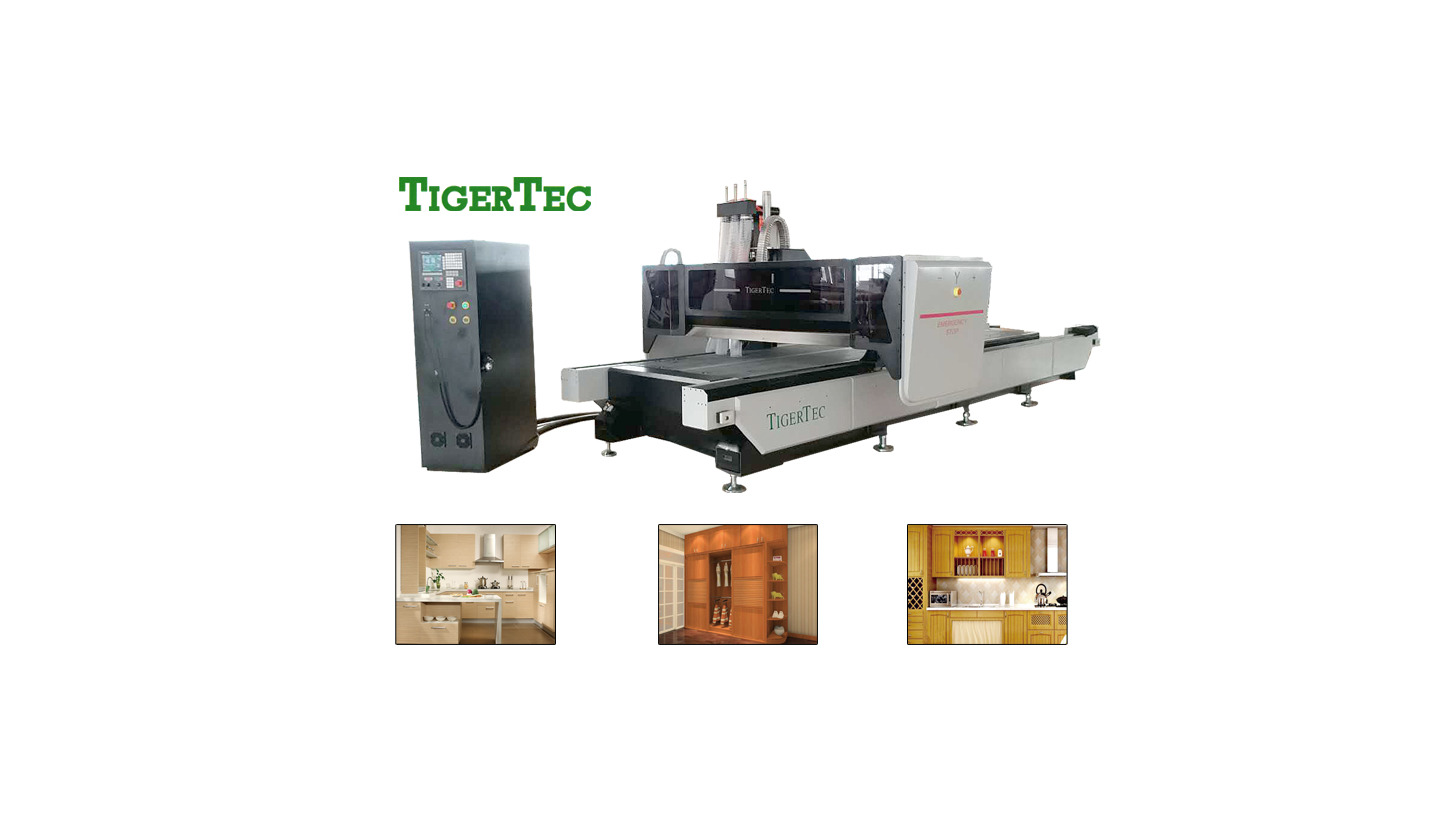 Logo Double table CNC cutting machine