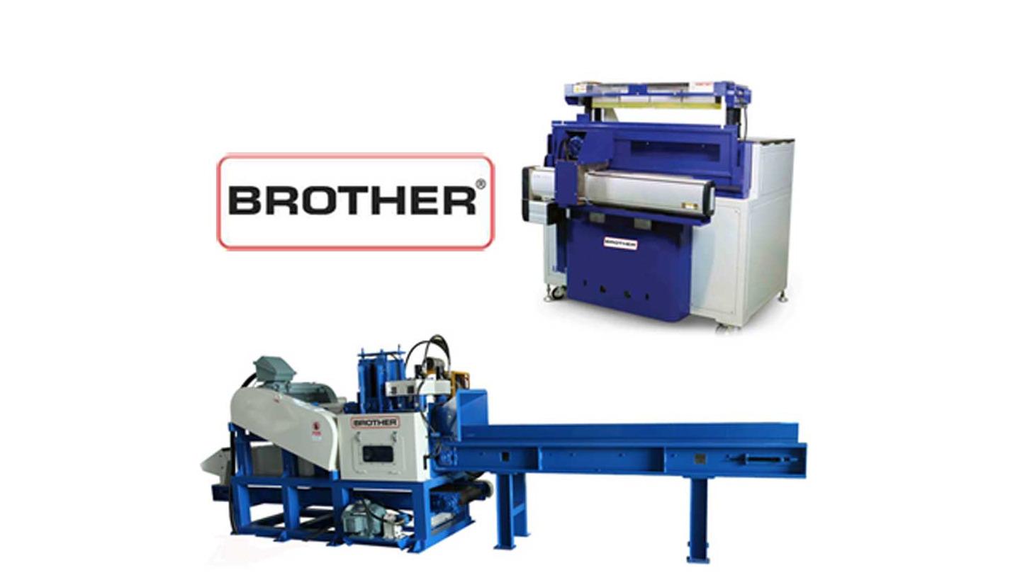 Logo Brother sawdust machine