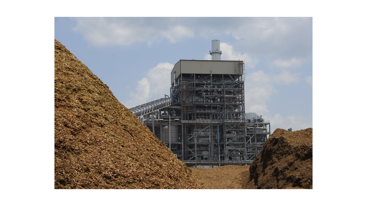 Logo CHP from biomass residues