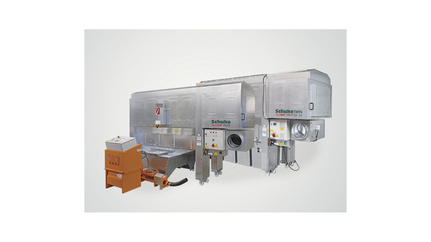 Logo New Mobile Dust Extractor Vacomat