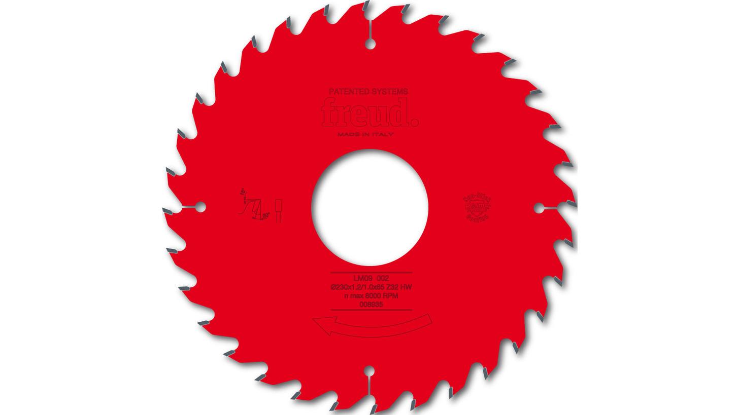 Logo LM09 - thin kerf ripping saw blade