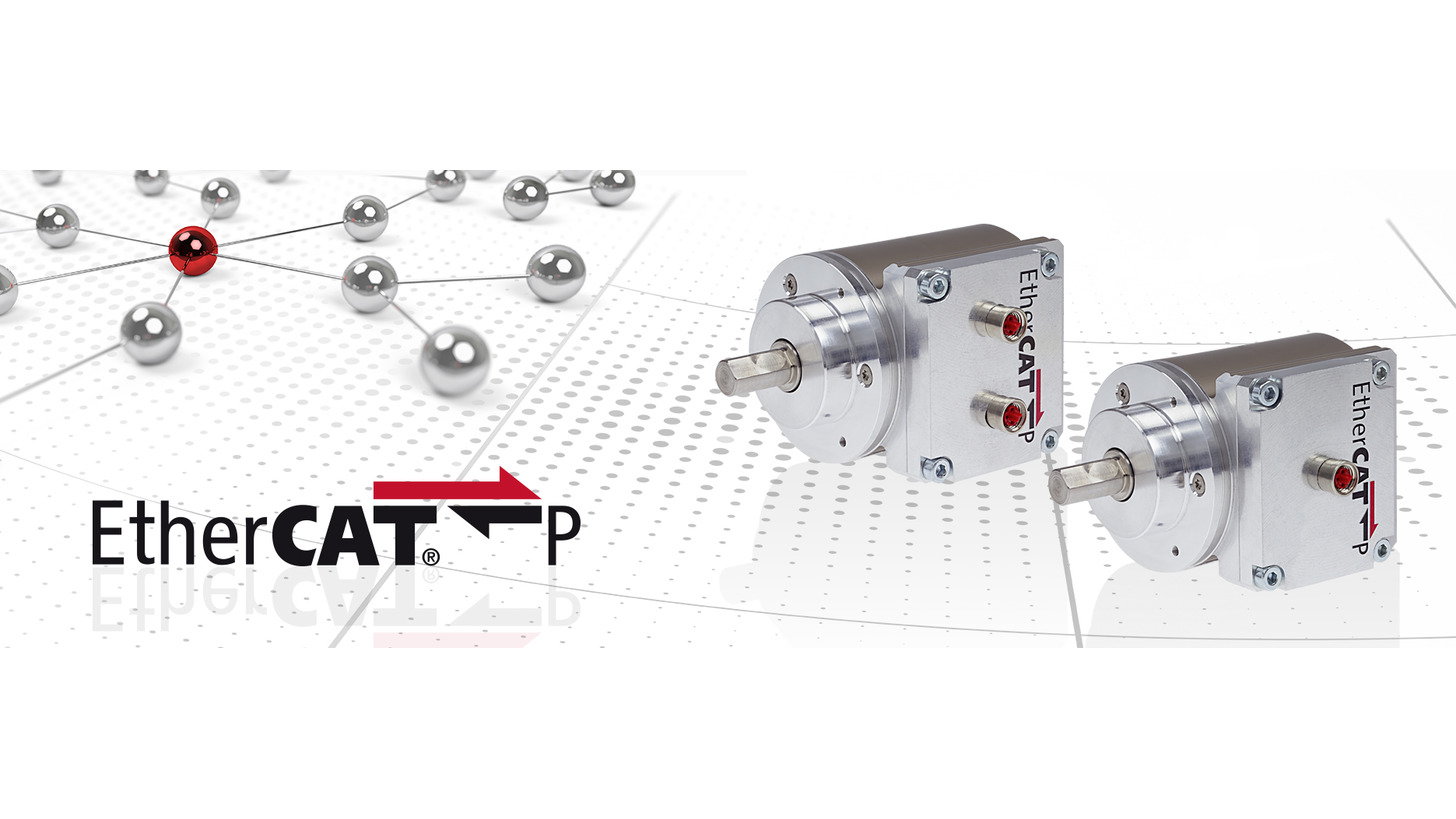 Logo Absolute rotary encoders with EtherCAT P