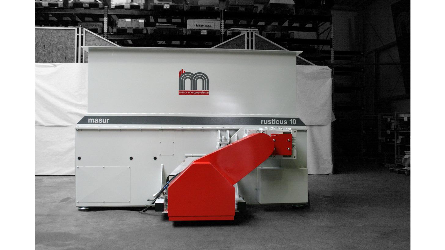 Logo Kompaktzerkleinerungsmaschine Rusticus