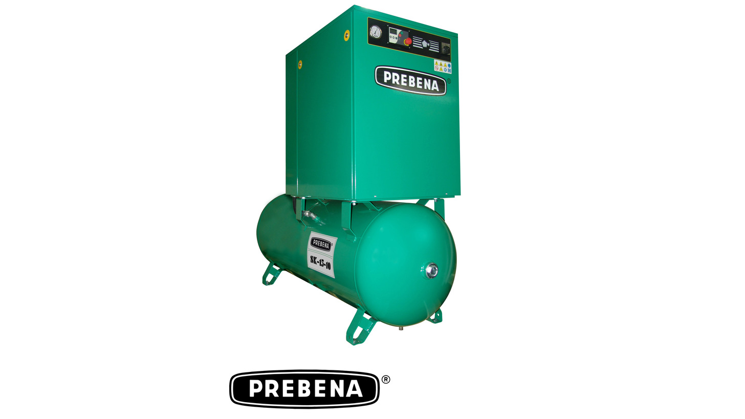 Logo screw compressors SK15-10 + SK7,5-10