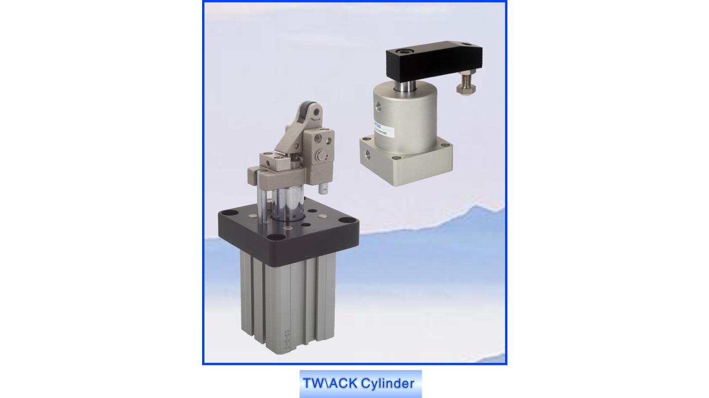 Logo Twist Clamp  Cylinder