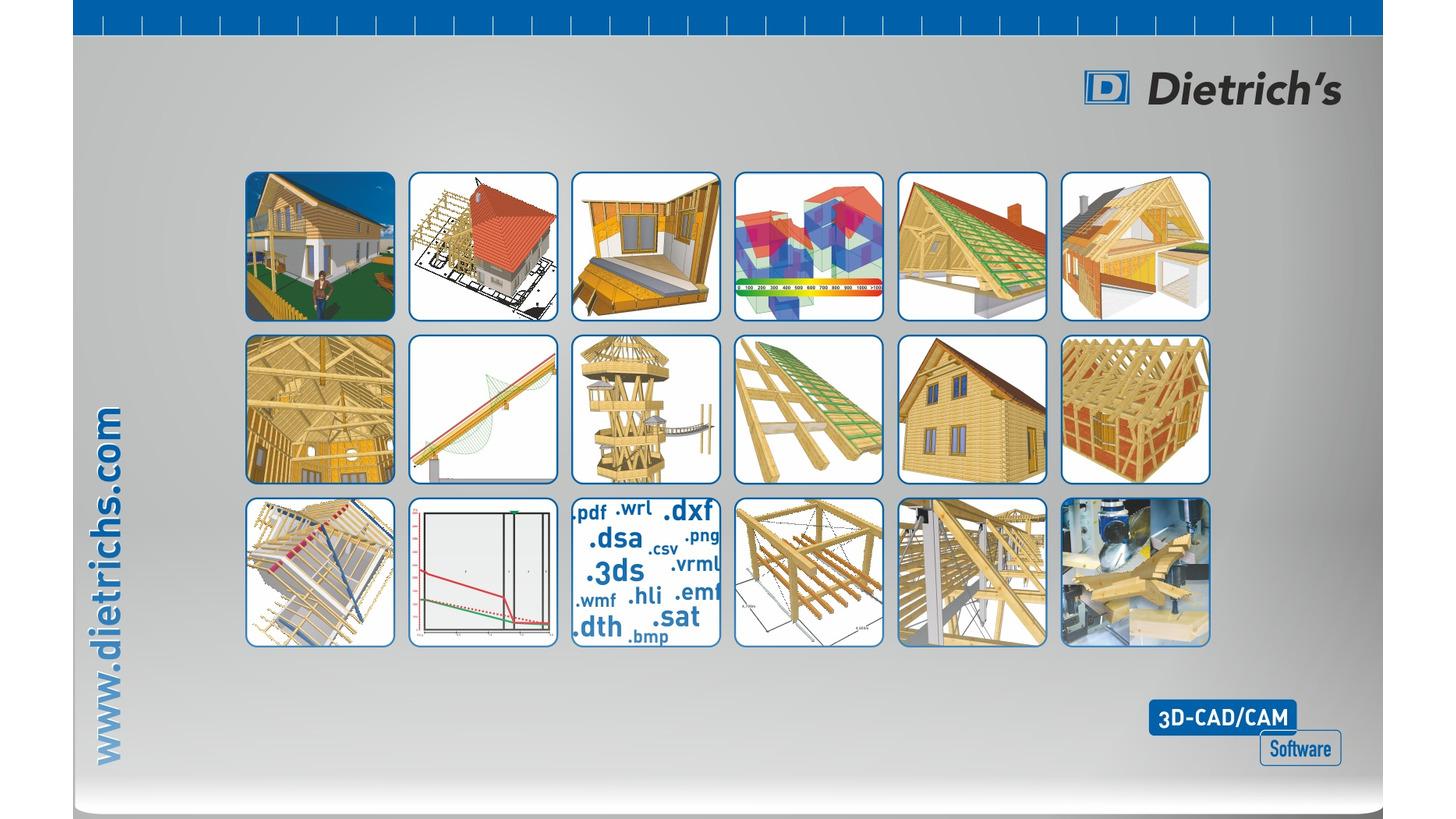 Logo Dietrich's 3D-CAD/CAM Software