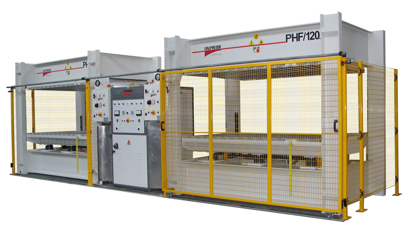 Logo High frequency bending presses PHF
