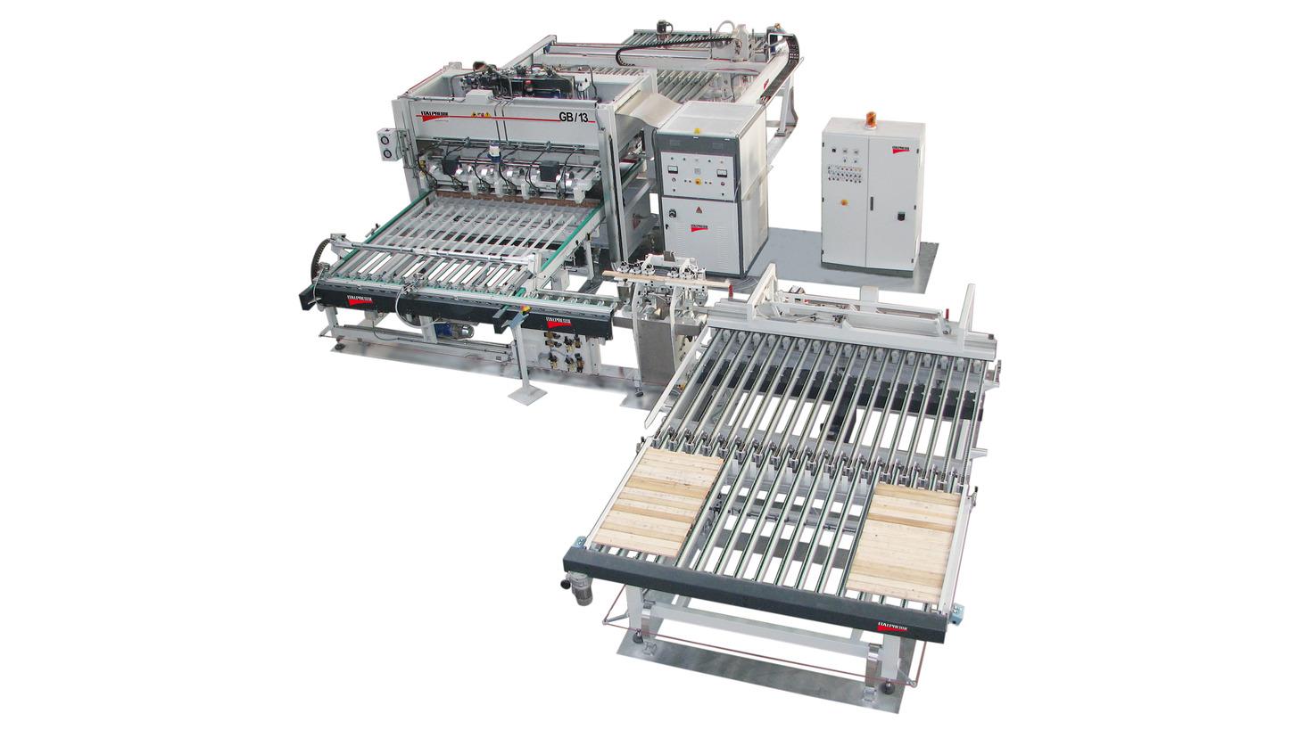 Logo Solid wood edge gluing press lines GB/13