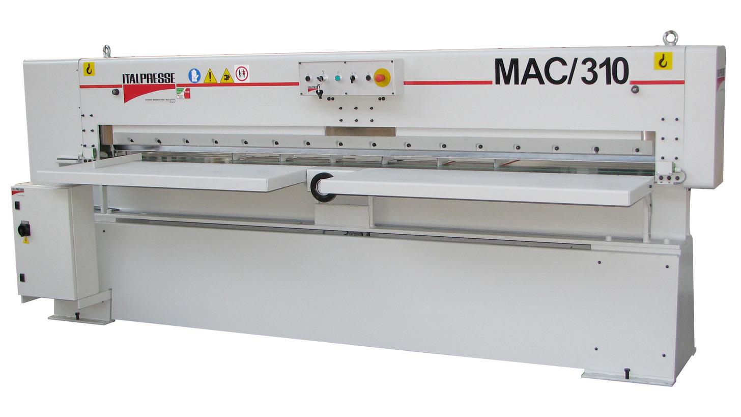 Logo Furnierpaketschere MAC/310