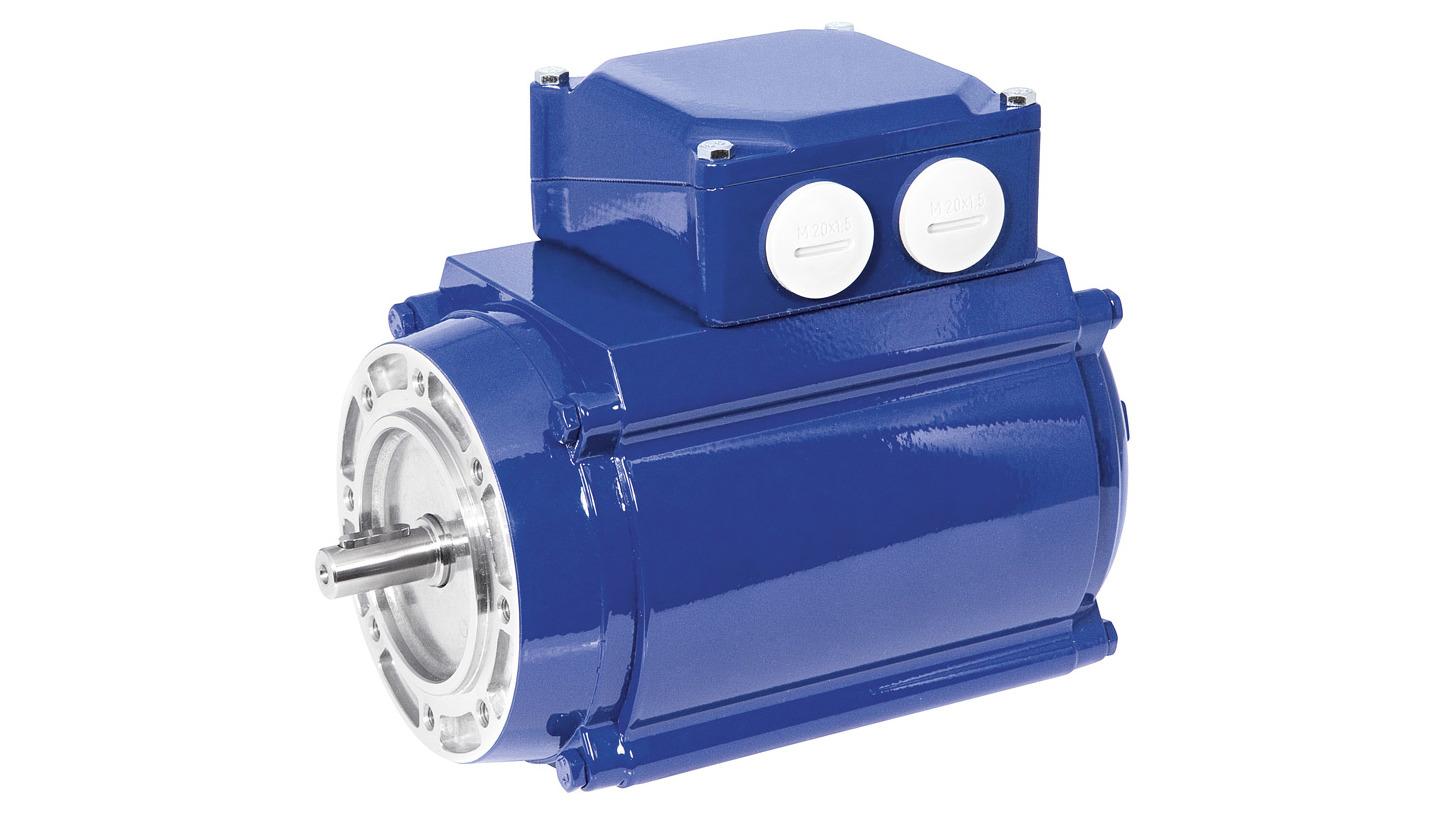 Logo Energy-efficient three-phase motors