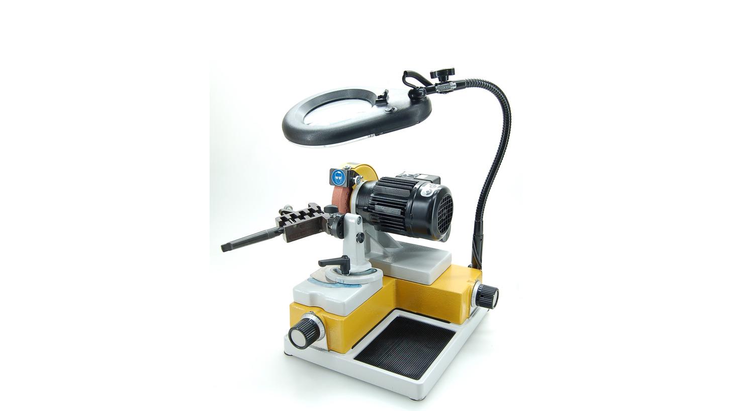 Logo Spiralbohrerschleifmaschine, Werkzeugschleifmaschine