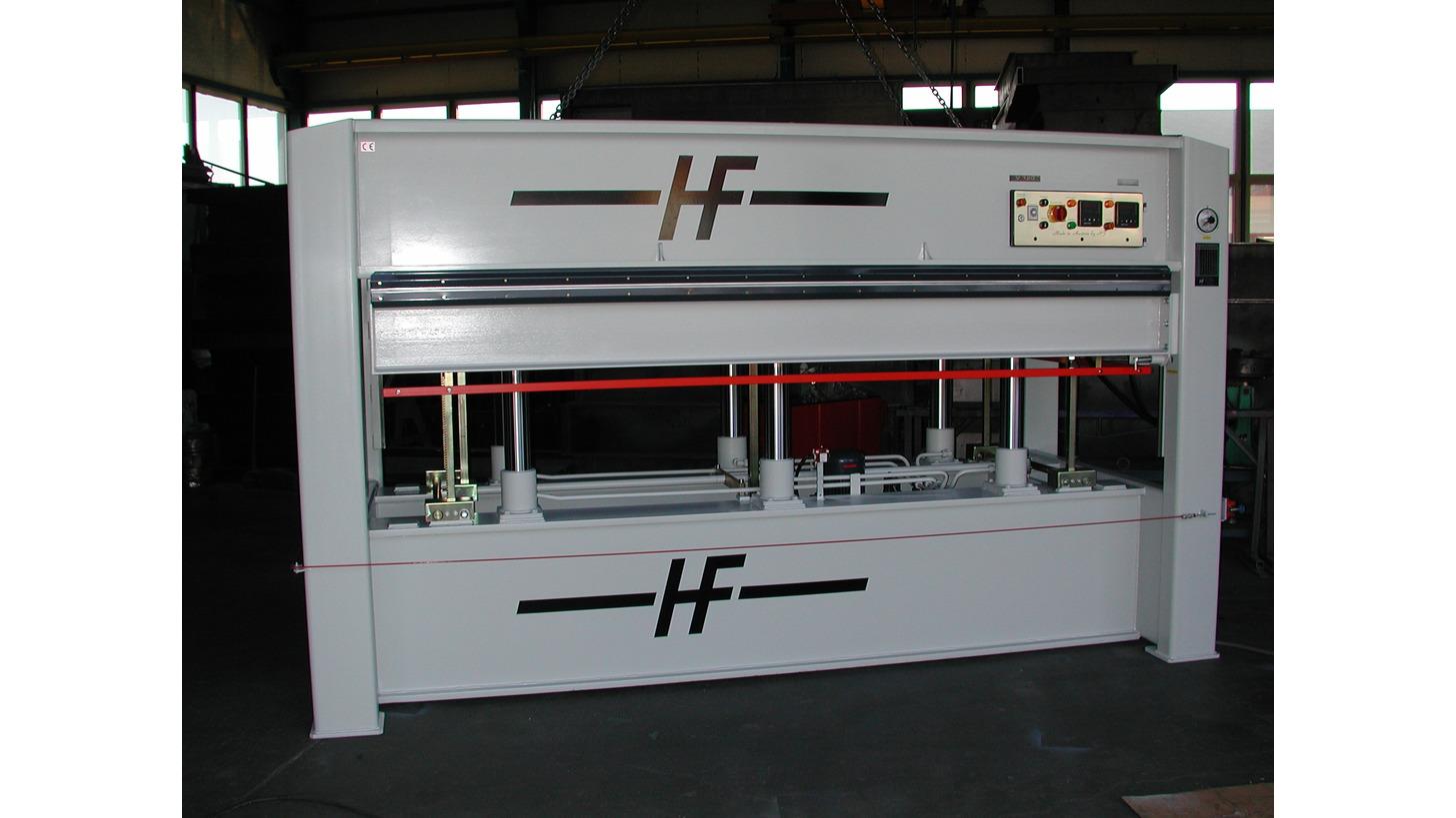 Logo Furnierpresse elektro-hydraulisch
