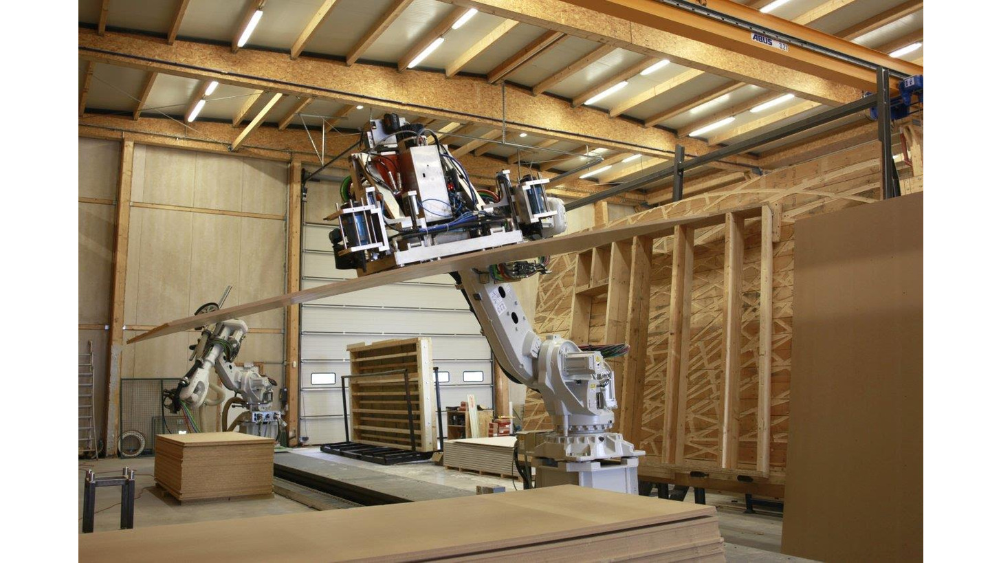 Logo ROBOTICS FOR THE WOOD INDUSTRY