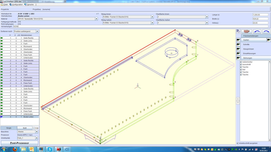 Logo CAD+T CNC Anbindung