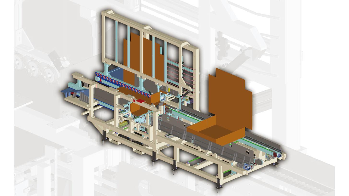 Logo Box forming machine mod. FM410