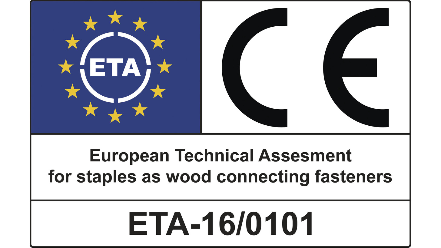 Logo Staples with ETA certification