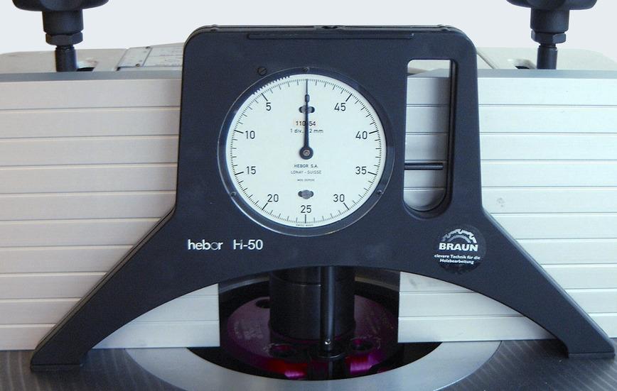 Logo HEBOR Tool Settng Gauge H 50