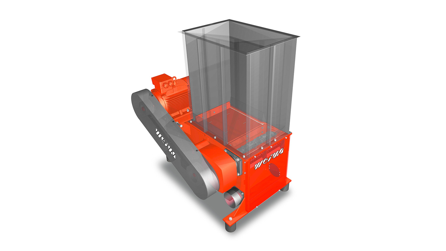 Logo WEIMA WL 600 single-shaft shredder