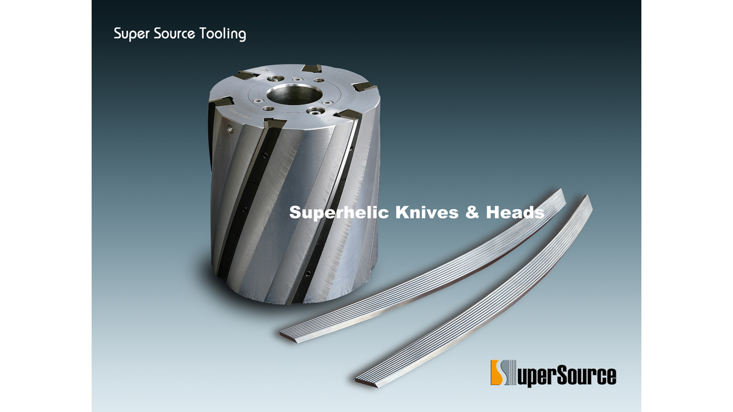 Logo Superhelic Knives & Cutterheads