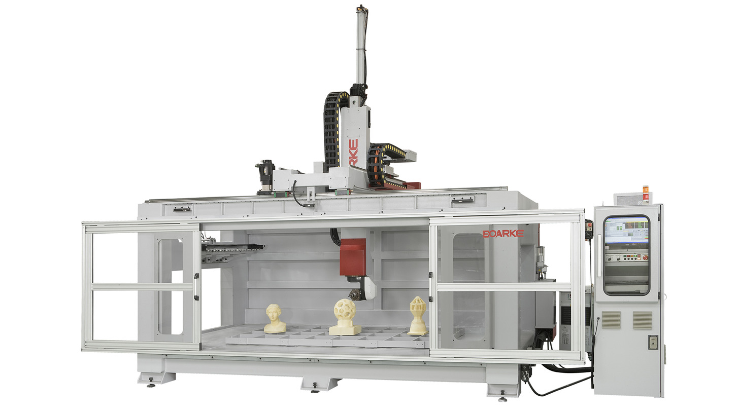 Logo Inexpensive 5 axis CNC Router machine