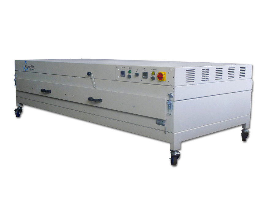 Logo Heating oven & membrane press