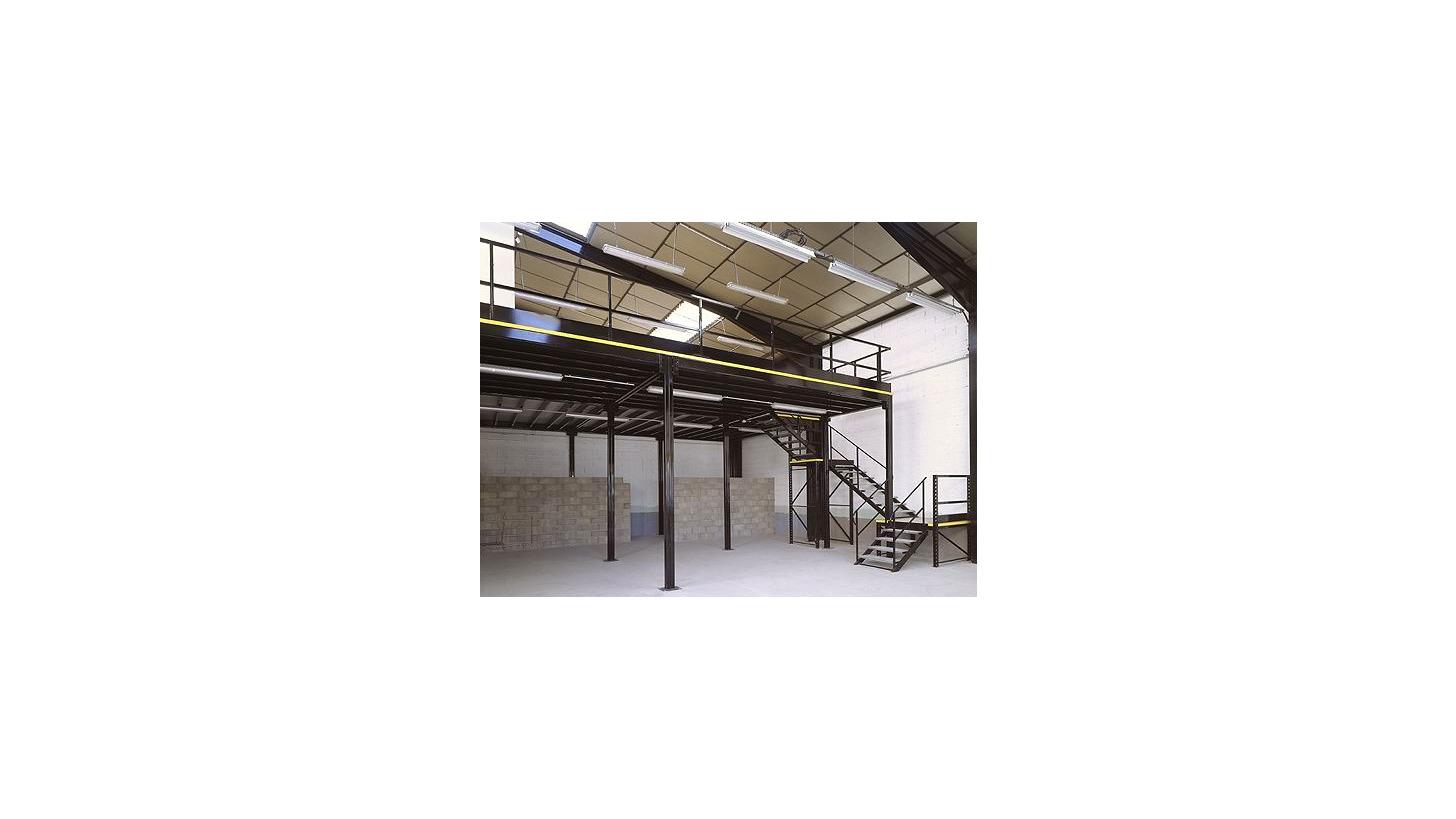 Logo Use Space  with the ELVEDI Mezzanine and Multi-Storey Facilities