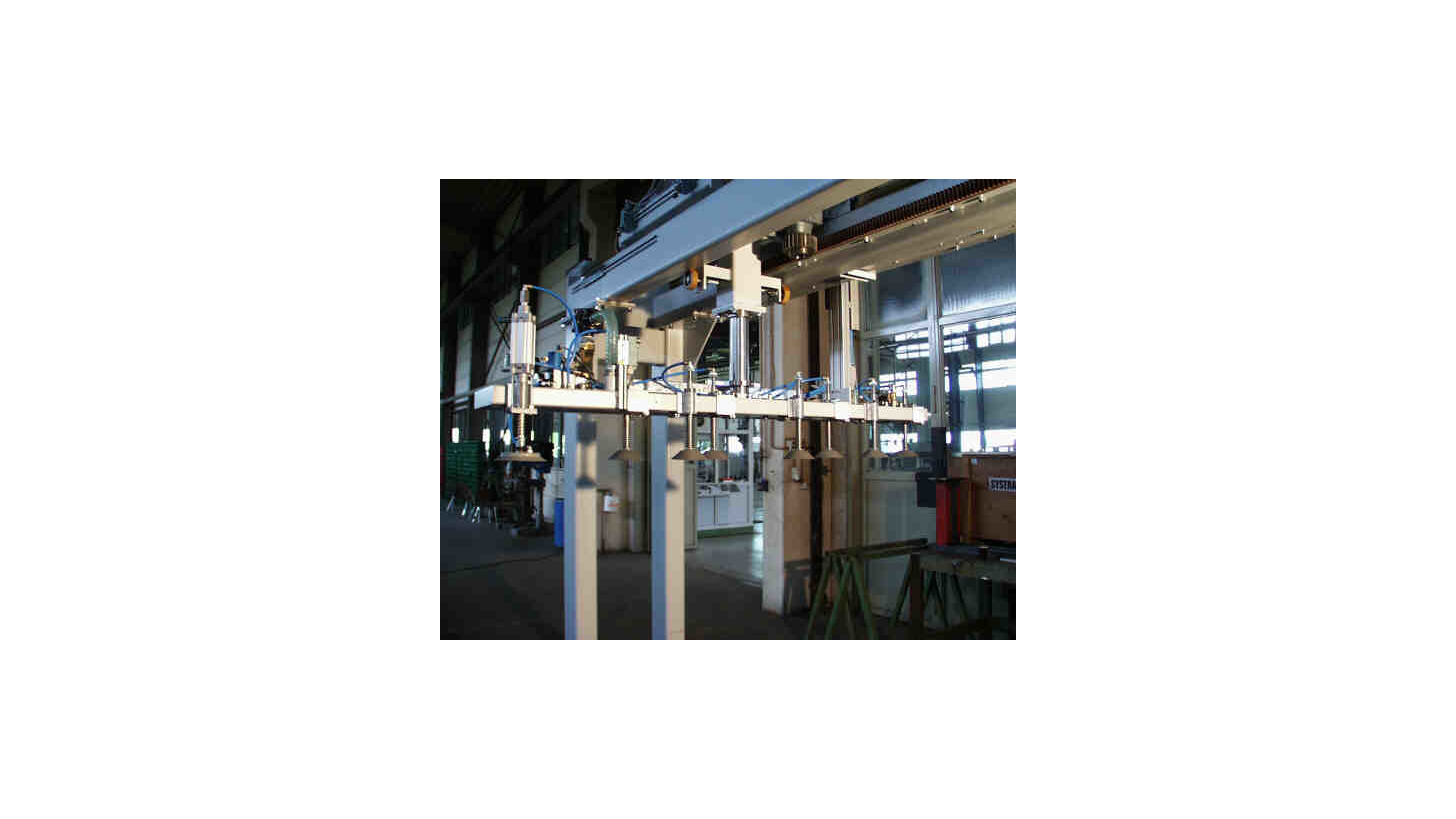 Logo Gantry Systems, Feeding and Stacking Systems