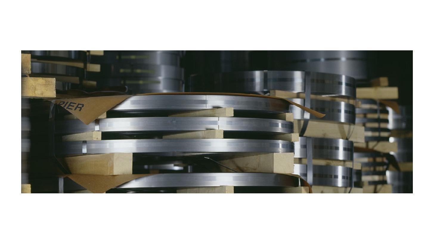 Logo Steel Strip