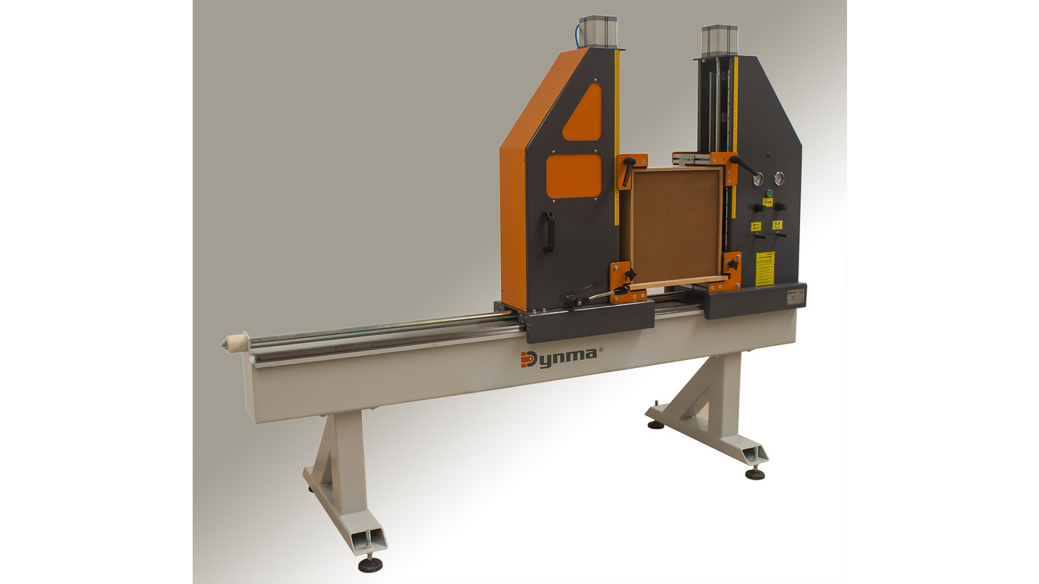 Logo Pneumatic press for assembly drawers