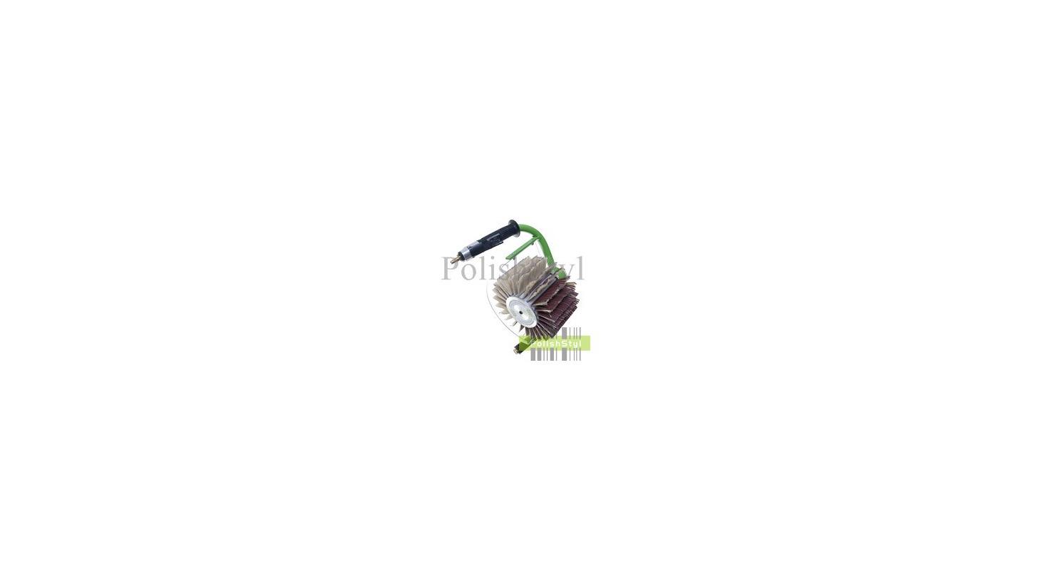 Logo Pneumatic handled and stationary brushing machines
