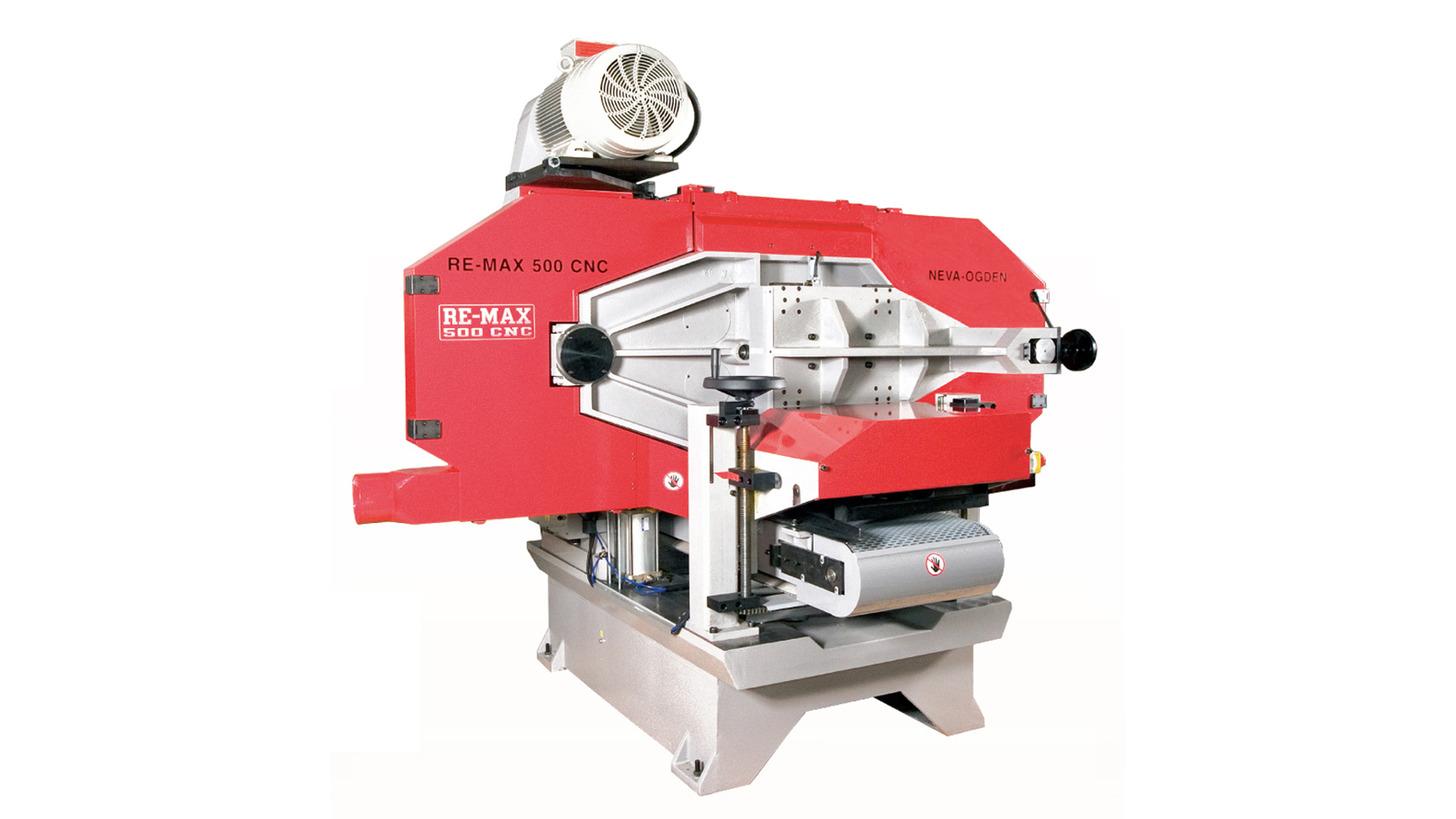 Logo Horizontal CNC Re-Saw REMAX 500