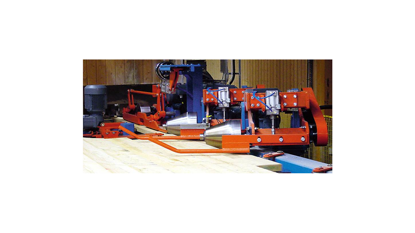 Logo Planer feed table
